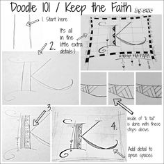 BAJ:Doodles 101: Keep the Faith:PM: Sue Carroll