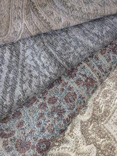 Natural Paisley Color Story From Top To Bottom De Le Cuona Serenity Dawn Weitzner Madeleine Flint Meadow Blossom Hodsoll Mckenzie Thompson