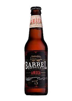 Cerveja Barrel Trolley Amber Ale, estilo American Amber Ale, produzida por World Brews, Estados Unidos. 5.5% ABV de álcool.