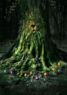 If God looks like anything in my head, Greenman is it.