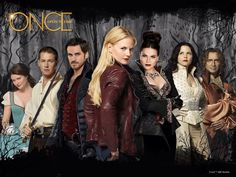 The awesome cast of #Once on an awesome banner for awesome #Once #S4