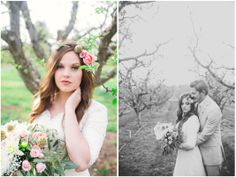 Bridger + Lindsey   Zollinger Tree Farm Pictures   Kylee Ann Photography   Logan Utah Wedding Photographer