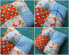FairyFace Designs: {Sew} Get Started: Simple Pincushion & Needlebook Tutorial