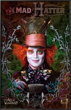 Depp :) the best character in alice and the wonder land