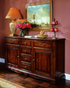 Hooker Furniture Waverly Place 6 Drawer Buffet SALE Ends Feb 23 by Dining Rooms Outlet