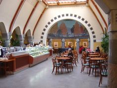 Helsinki art nouveau buildings - Cafe Jugend, Helsinki. http://data5.blog.de/media/687/3674687_f71fc5f23b_m.jpg