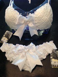 Bonny Bikini Bridal Bikini with Tie Bows by BonnyBikini on Etsy, $65.00