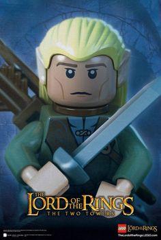 Nova imagem de Lego Senhor dos Anéis
