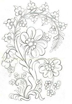 Excellent Screen dibujos para bordar Embroidery Designs Tips You are welcome to hand adornments! Embroidery can be quite a stress-free inventive electric outlet Embroidery Designs, Crewel Embroidery, Ribbon Embroidery, Machine Embroidery, Mexican Embroidery, Bordado Popular, Art Quilling, Coloring Book Pages, Line Art