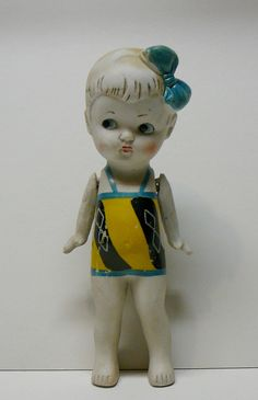1920s Art Deco Antique Bisque Jointed Doll Learn about your collectibles, antiques, valuables, and vintage items from licensed appraisers, auctioneers, and experts http://www.bluevaultsecure.com/roadshow-events.php