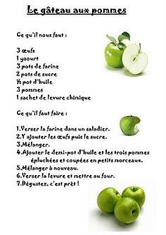 La maternelle de Laurène: Le gâteau aux pommes