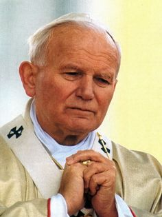 This page is dedicated to Pope John Paul II; John Paul the Great; Catholic Saints, Roman Catholic, Papa Juan Pablo Ii, Pope John Paul Ii, Paul 2, Religious Images, Thing 1, Quote Posters, Custom Posters