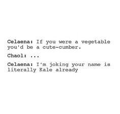 I don't ship Chaolaena