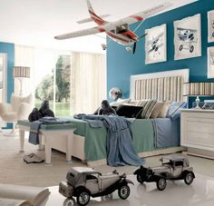 Toddler boy room ideas to apply can be those that are interesting and exciting kids bedroom ideas for boys. Find out toddler boy room design, tips here Boys Bedroom Themes, Kids Bedroom, Bedroom Decor, Bedroom Ideas, Boy Rooms, Bedroom Designs, Bedroom Furniture, Bedroom Inspiration, Boys Airplane Bedroom