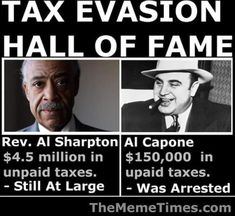 Image result for al sharpton the crook cartoon pic