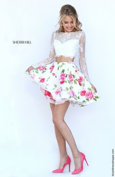 Sherri Hill dress style 50464 is a perfect choice for your prom. This dress…