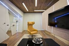 Living Room by Geometrix Design