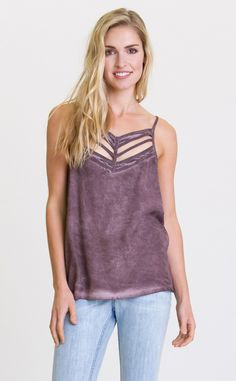 77d52c183fa RVCA Womens Obviously Tank Top clay