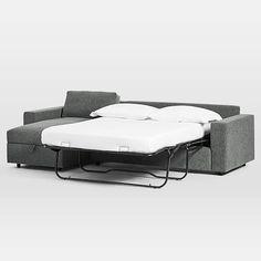 Urban Sleeper Sectional w/ Storage | west elm