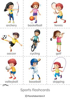 The Sports World Vocabulary Quiz Esl 2 English Vocabulary Games