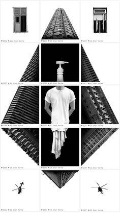 Instagram Collages – Les compositions Instagram de Weijiang