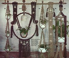 Loved making Macrame projects when I was younger! Wouldn't mind trying this out again.