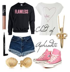 Child of Aphrodite Aphrodite, Bling Jewelry, Nars Cosmetics, Givenchy, Converse, Cabin, Shoe Bag, Children, Polyvore