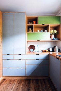 New Kitchen Corner Shelves Colour Ideas Kitchen On A Budget, Home Decor Kitchen, Kitchen Interior, Home Kitchens, Kitchen Ideas, Kitchen Layout, Small Kitchen Furniture, Retro Kitchens, Decorating Kitchen