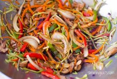 Chicken Singapore Noodles   Slimming Eats - Slimming World Recipes