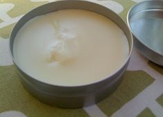 Natural home made unpetroleum jelly