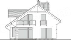 Projekt domu Z Charakterem 3 138,1 m2 - koszt budowy - EXTRADOM Floor Plans, House Design, Mirror, Furniture, Home Decor, Houses, Decoration Home, Mirrors, Home Furnishings
