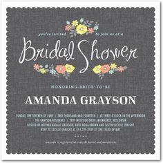 Bridal Shower Invitations Cards