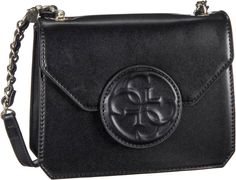 Guess Amy Crossbody Flap Black - Abendtasche   Clutch