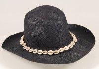 RAFFIA HAT WITH COWREY SHELLS Raffia Hat, Shop Ideas, Cowboy Hats, Shells, Accessories, Shopping, Fashion, Conch Shells, Moda