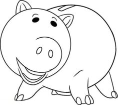 Hamm Pig Toy Story Coloring Pages, boys coloring sheets, cartoon coloring pages, hamm toy story, Free online coloring pages and Printable Coloring Pages For Kids Toy Story Coloring Pages, Disney Coloring Pages, Animal Coloring Pages, Printable Coloring Pages, Colouring Pages, Coloring Pages For Kids, Coloring Sheets, Coloring Books, Kids Coloring