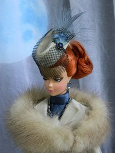 Blue Moon Fashion for Silkstone/Vintage Barbie & Fashion Royalty Dolls by Joby Originals