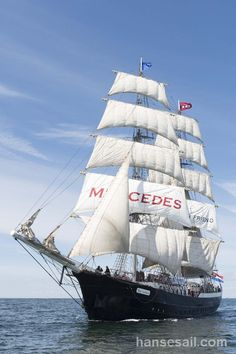 "Tall Ship ""Mercedes"" @ Hanse Sail Rostock."