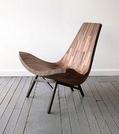 wood chair - chillen im garten!