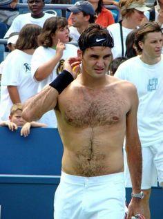 Watching tennis?