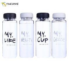 New Best Quality Portable Leakproof My Fashion Juice Water Bottle Travel Fitness Sport Camping Lemon Juice Drinkware 500ml
