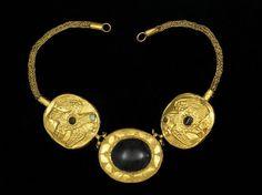 Gold Necklace, AD 100-300, Parthian, Iran