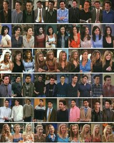 All 6 characters in all 10 seasons
