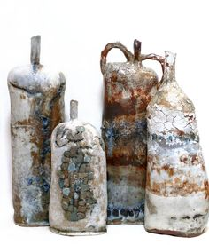 Brenda Holzke Art click now for more info. Kintsugi, Paper Clay, Clay Art, Pottery Vase, Ceramic Pottery, Hand Built Pottery, Keramik Vase, Wabi Sabi, Contemporary Ceramics