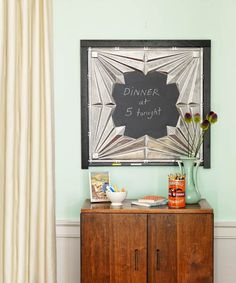 tin tile chalk board photo tina rupp thisoldhousecom from 88
