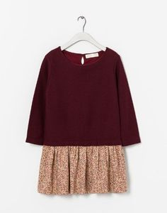 Zara Combined Print Dress