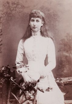 Princess Maud of Wales, later Queen of Norway. 1880s