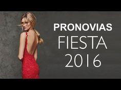 Vestidos de Fiesta 2016: Colección Pronovias con Precios (PVP recomendado España) - YouTube