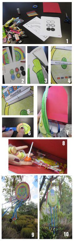Crea tu propia piñata Roombera. (Pero no la llenes de pelusa)