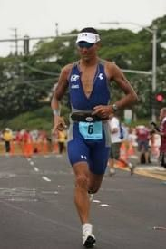 "Chris McCormack - Winner at last years Kona triathlon, plus many other titles.  Click pic to read Chris's ""I'm Here To Win""..."