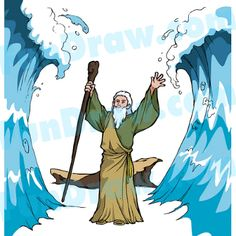 Moses Parts Red Sea Lesson Ideas - Fundraw.com